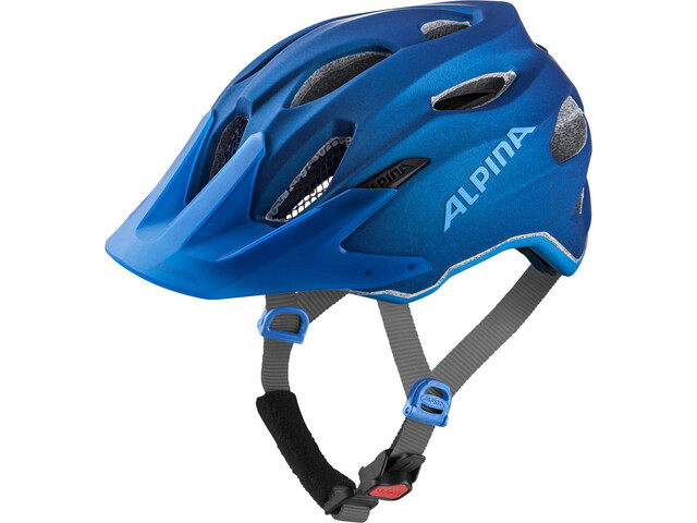 Alpina Carapax Casco Jóvenes, blue